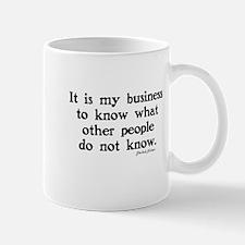 SHERLOCK HOLMES - IT IS MY BUSINESS Mug