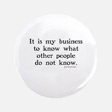 SHERLOCK HOLMES - IT IS MY BUSINESS Button