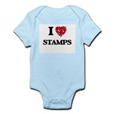 I love Stamps Body Suit