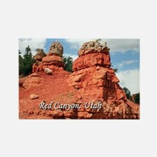 Red Canyon, Utah, USA (caption) Magnets