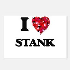 I love Stank Postcards (Package of 8)