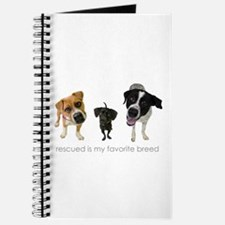 Rescued Favorite Breed Journal