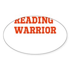 Reading Warrior Orange Decal
