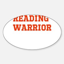 Reading Warrior Orange Decal