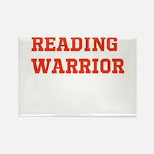 Reading Warrior Orange Magnets