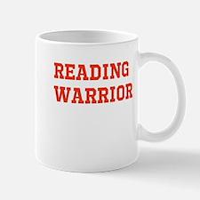 Reading Warrior Orange Mugs