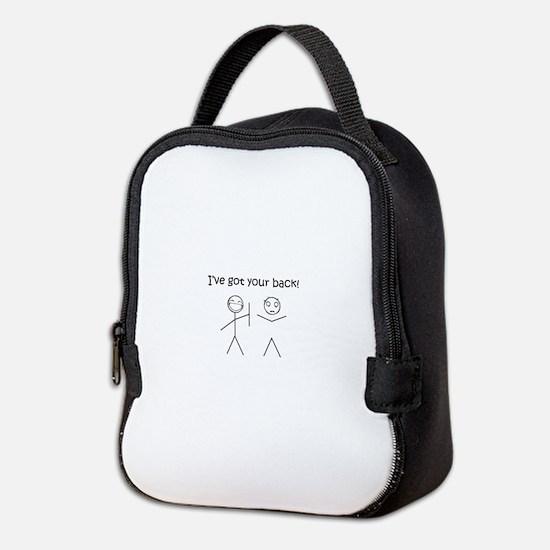 I've got your back Neoprene Lunch Bag