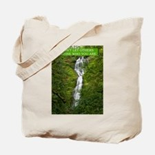 Don't Let Others Define Who You Are Tote Bag