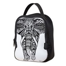 Elephant Neoprene Lunch Bag