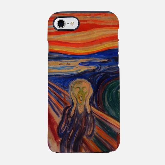 The Scream by Edvard Munch iPhone 8/7 Tough Case
