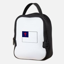 CHRISTIAN FLAG Neoprene Lunch Bag
