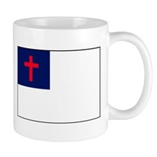 CHRISTIAN FLAG Mugs