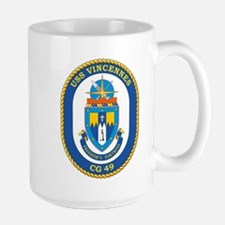 Uss Vincennes Cg 49 Mugs
