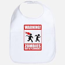 warning: zombies Bib