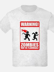 warning: zombies T-Shirt