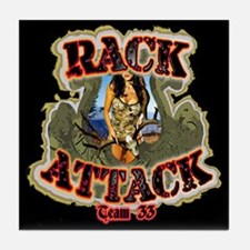 Team 33 Rack Attack Tile Coaster