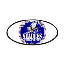 USN Seabees RWB Round Patch