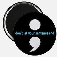 Semicolon Magnet