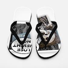 Unique Eat me Flip Flops