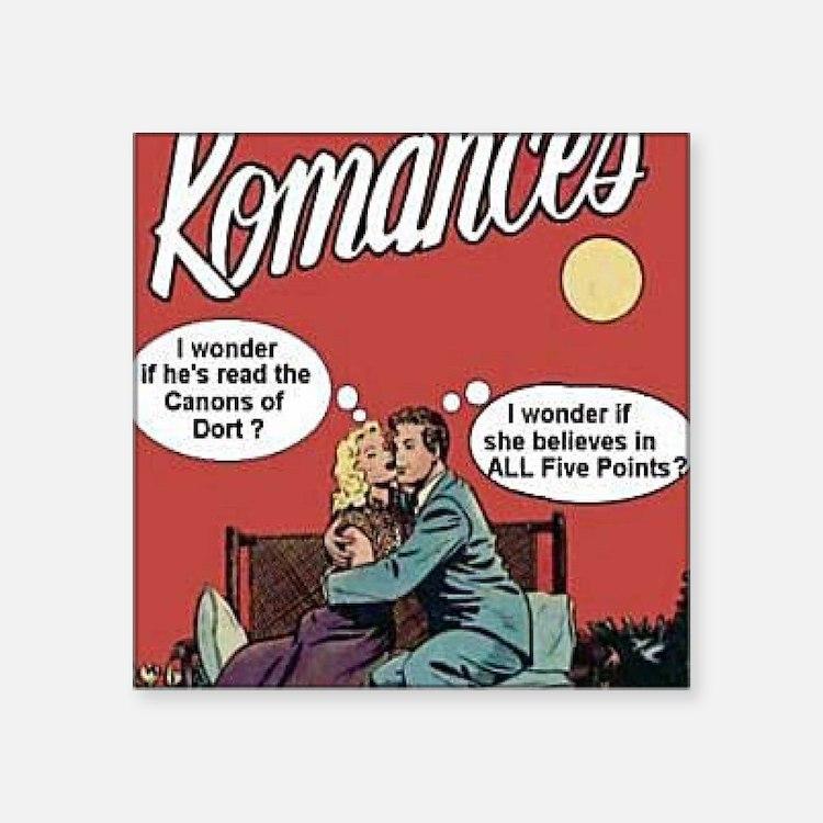 Calvinist Romances Sticker