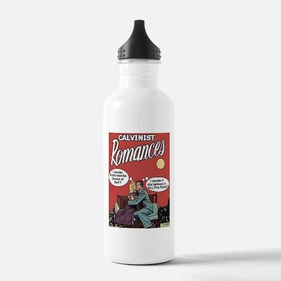 Calvinist Romances Water Bottle