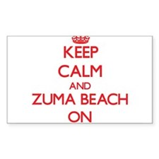 Keep calm and Zuma Beach California ON Decal