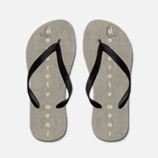 Funny or Otherwise Concrete Flip Flops