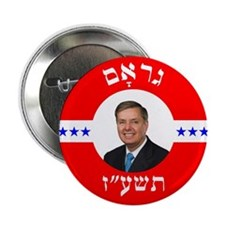 "2016 Lindsey Graham for President in 2.25"" Button"