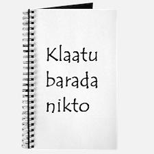 klaatu Journal