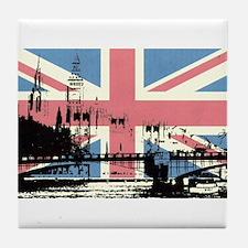 London Jacked Tile Coaster