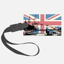London Jacked Luggage Tag