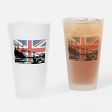 London Jacked Drinking Glass