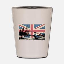 London Jacked Shot Glass