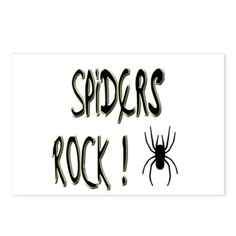 Spiders Rock ! Postcards (Package of 8)