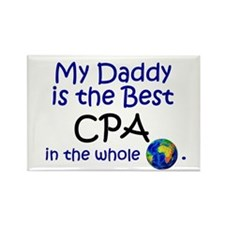 Best CPA In The World (Daddy) Rectangle Magnet