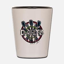 Darts Shot Glass
