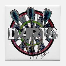 Darts Tile Coaster
