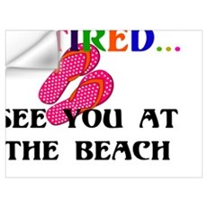Retired...See You at the Beach Wall Decal