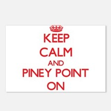 Keep calm and Piney Point Postcards (Package of 8)