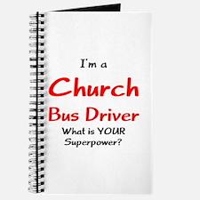church bus driver Journal