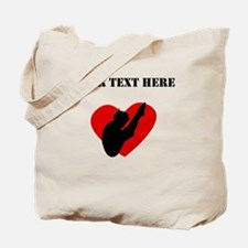 Diving Heart (Custom) Tote Bag