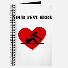 Rowing Heart (Custom) Journal
