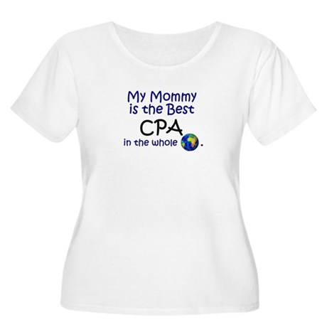 Best CPA In The World (Mommy) Women's Plus Size Sc