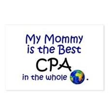 Best CPA In The World (Mommy) Postcards (Package o
