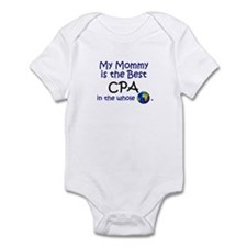 Best CPA In The World (Mommy) Infant Bodysuit