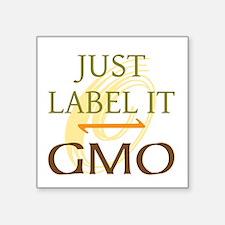 GMO - Label It Sticker