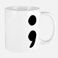 semicolon Mugs