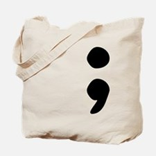semicolon Tote Bag