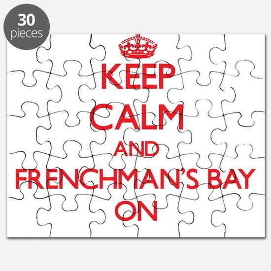 Keep calm and Frenchman'S Bay Virgin Island Puzzle