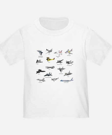 Planes and Jets T-Shirt